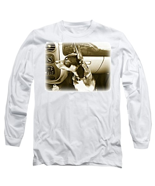 Long Sleeve T-Shirt featuring the photograph First Ride Home by Pamela Hyde Wilson