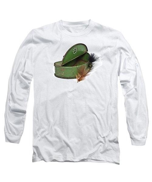 Fishing Lures Long Sleeve T-Shirt by Susan Leggett