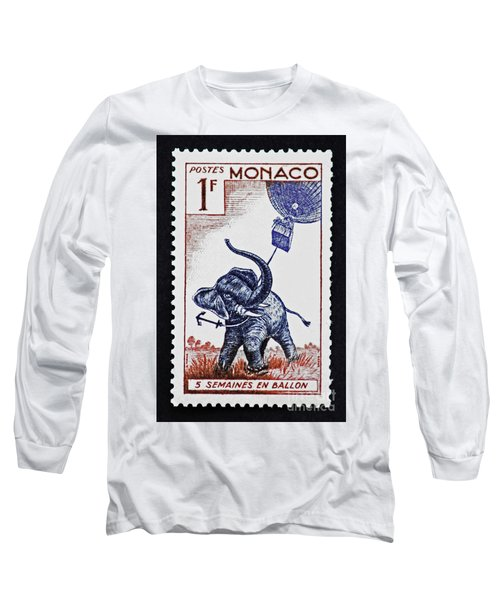 Long Sleeve T-Shirt featuring the photograph Five Weeks In A Balloon by Andy Prendy