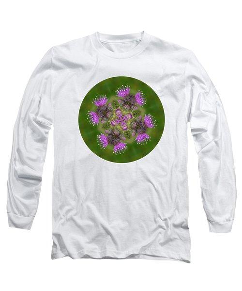 Long Sleeve T-Shirt featuring the photograph Flower Of Scotland by Lynn Bolt