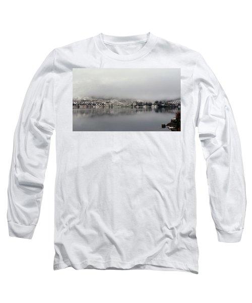 Long Sleeve T-Shirt featuring the photograph Fog On The Loch by Lynn Bolt