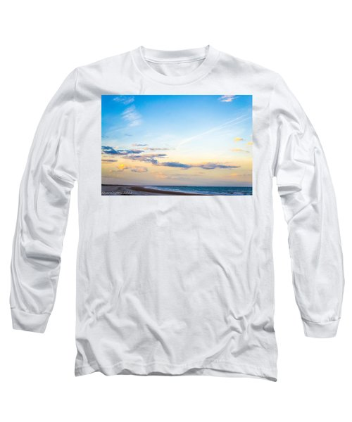 Long Sleeve T-Shirt featuring the photograph Forte Clinch Pier by Shannon Harrington