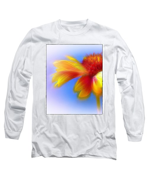 Fresh As A Daisy Long Sleeve T-Shirt by Judi Bagwell