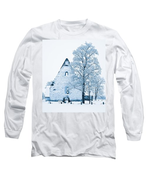 Frosty Ruins Long Sleeve T-Shirt
