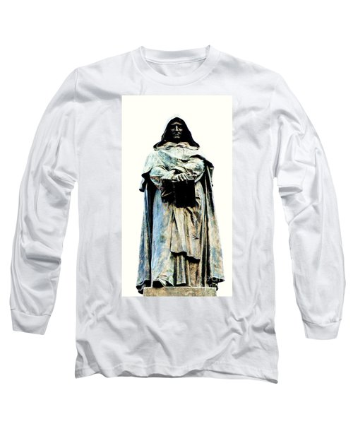 Giordano Bruno Monument Long Sleeve T-Shirt