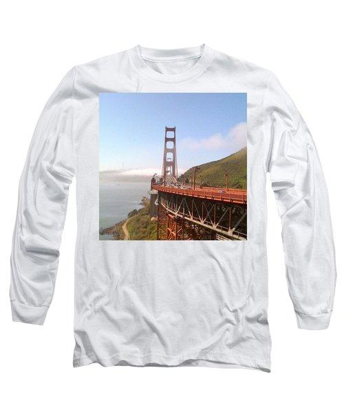 Golden Gate Bridge - San Francisco Ca Long Sleeve T-Shirt