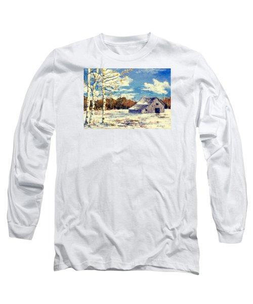 Grandma's Barn Long Sleeve T-Shirt