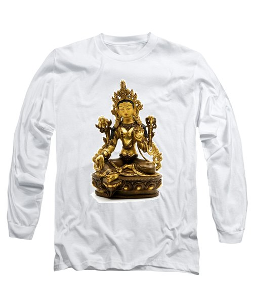 Green Tara Long Sleeve T-Shirt