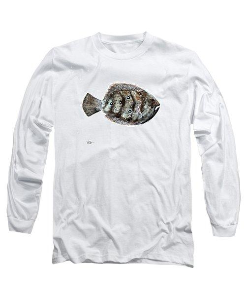 Gulf Flounder Long Sleeve T-Shirt