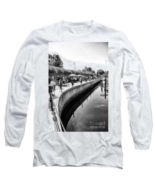 Hanging At The Harbor Long Sleeve T-Shirt
