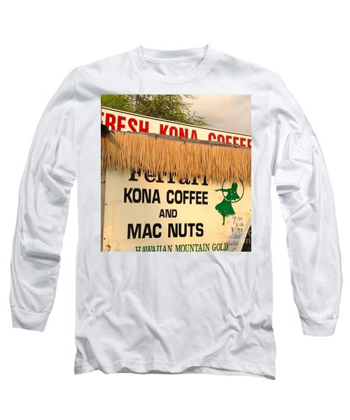 Hawaiian Food Truck Long Sleeve T-Shirt by Beth Saffer