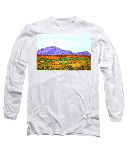 Hills That Nourish Long Sleeve T-Shirt