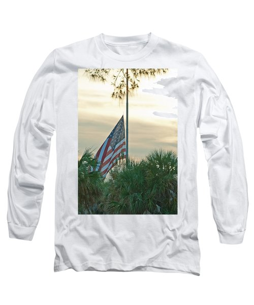 Honoring A Hero Long Sleeve T-Shirt