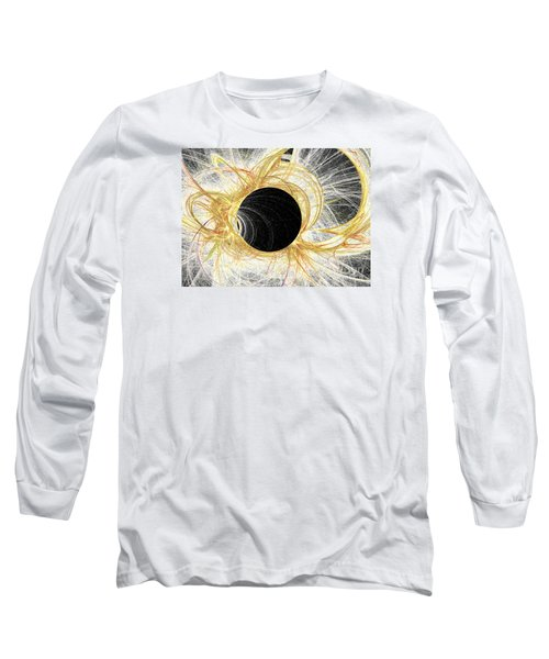 Long Sleeve T-Shirt featuring the digital art Horizon by Kim Sy Ok