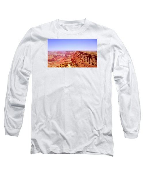 Long Sleeve T-Shirt featuring the photograph horizon in Grand Canyon by Rima Biswas