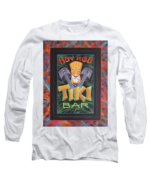 Hot Rod Tiki Bar Long Sleeve T-Shirt