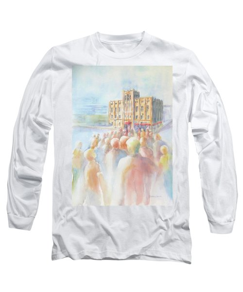Ideal Organization In Orange County Long Sleeve T-Shirt by Debbie Lewis