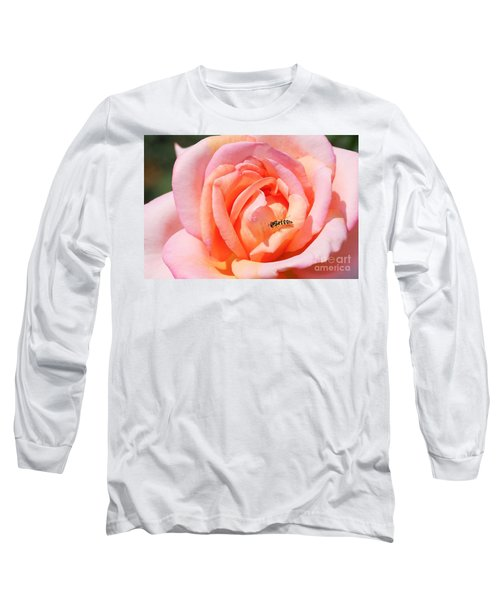 Long Sleeve T-Shirt featuring the photograph In Search Of Nectar by Fotosas Photography