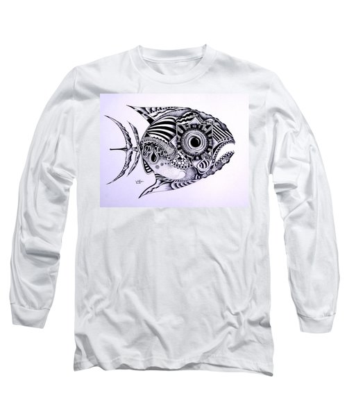 Incomplete Anger Long Sleeve T-Shirt