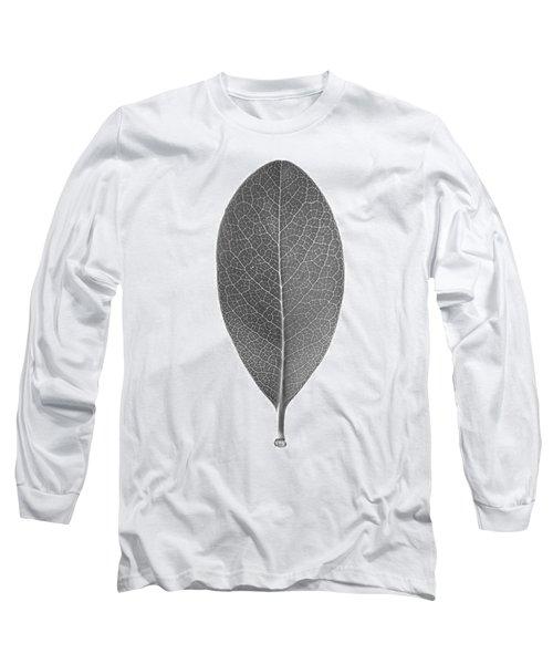 Indian Hawthorn Leaf Long Sleeve T-Shirt