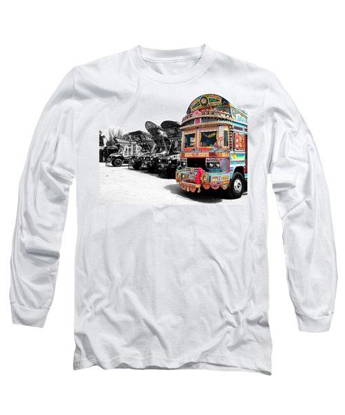 Indian Truck Long Sleeve T-Shirt