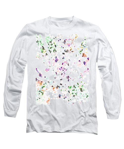 Long Sleeve T-Shirt featuring the digital art It's A Mad World  by Steve Taylor