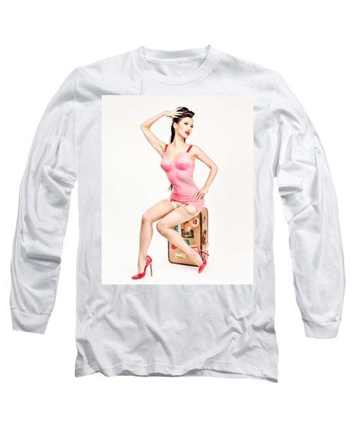 Jade Vixen Bubblegum 1076 Long Sleeve T-Shirt
