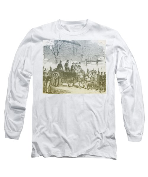 John Brown, American Abolitionist Long Sleeve T-Shirt
