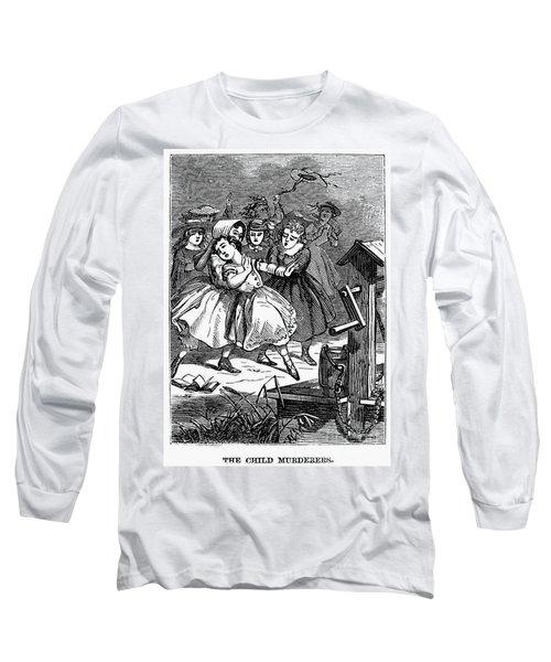 Juvenile Crime, 1868 Long Sleeve T-Shirt