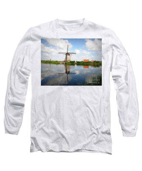 Kinderdijk Windmill Long Sleeve T-Shirt