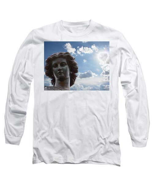 Long Sleeve T-Shirt featuring the photograph Lady Of The Waters by Sarah McKoy