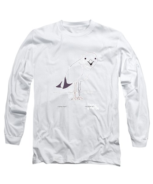 Laughing Seagull Long Sleeve T-Shirt
