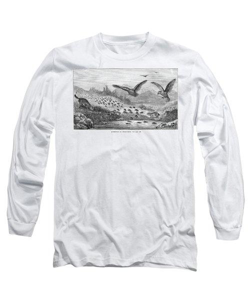 Lemming Migration Long Sleeve T-Shirt
