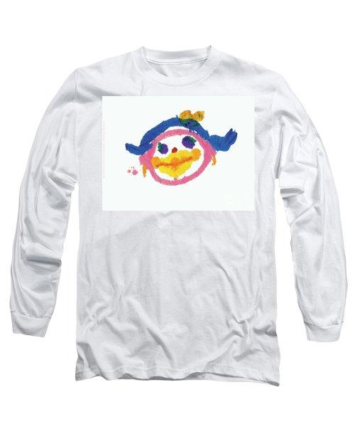 Lipstick Face Long Sleeve T-Shirt