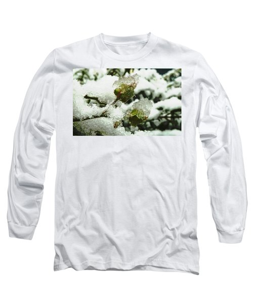 Long Sleeve T-Shirt featuring the photograph Liquid Crystal  by Steve Taylor