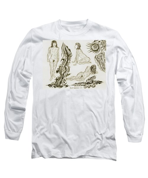 Live Nude 17 Female Long Sleeve T-Shirt