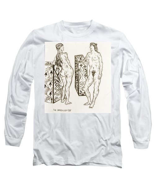 Live Nude 19 Female Long Sleeve T-Shirt
