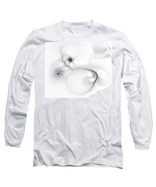 Long Sleeve T-Shirt featuring the digital art Livid Manifestations by Casey Kotas