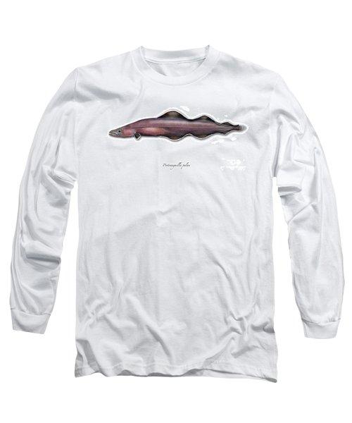 Living Fossil Eel - Protoanguilla Palau - Isle Of Palau Long Sleeve T-Shirt