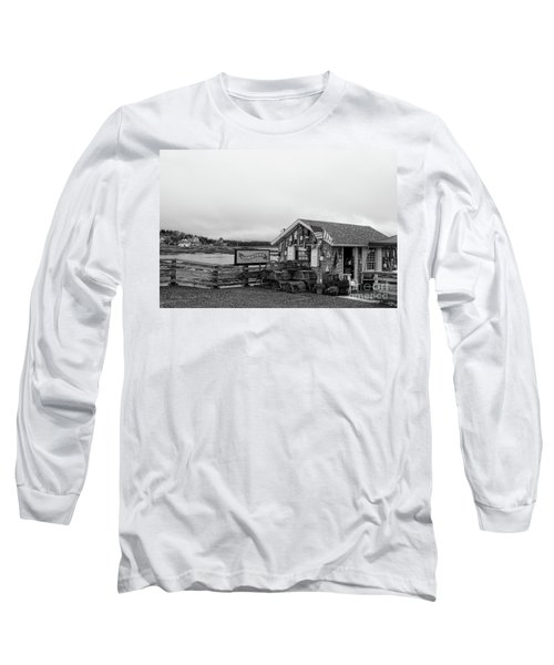 Lobster House Bw Long Sleeve T-Shirt