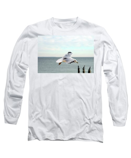 Looking For Dinner Long Sleeve T-Shirt by Clayton Bruster