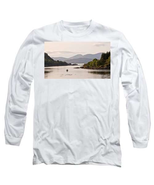 Looking To The Isle Of Mull Long Sleeve T-Shirt