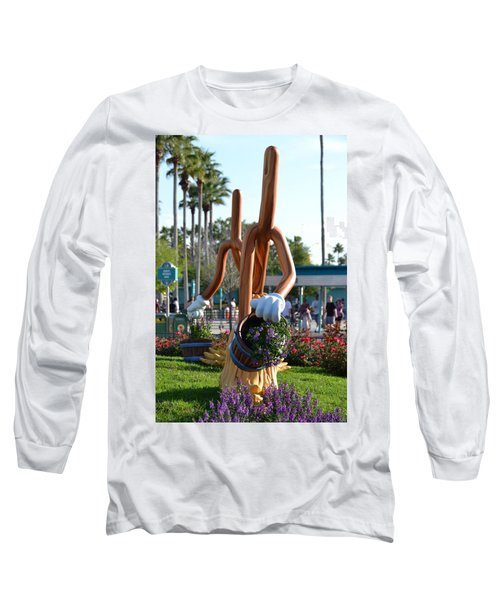 Magic Mop Long Sleeve T-Shirt by Bonnie Myszka