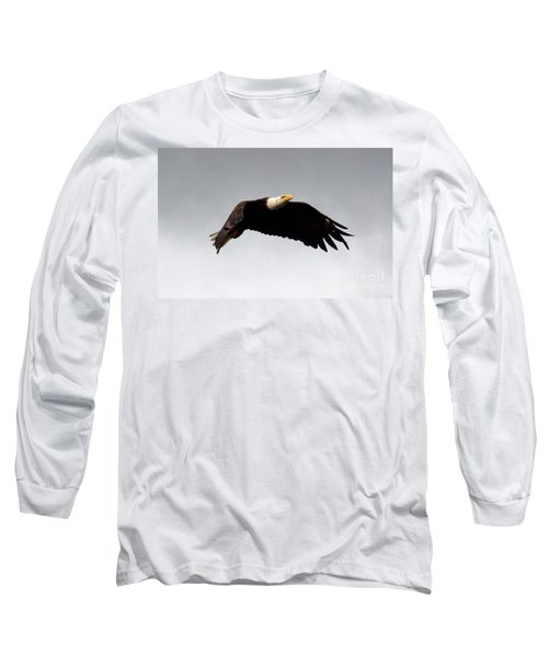 Majestic Flight Long Sleeve T-Shirt by Polly Peacock