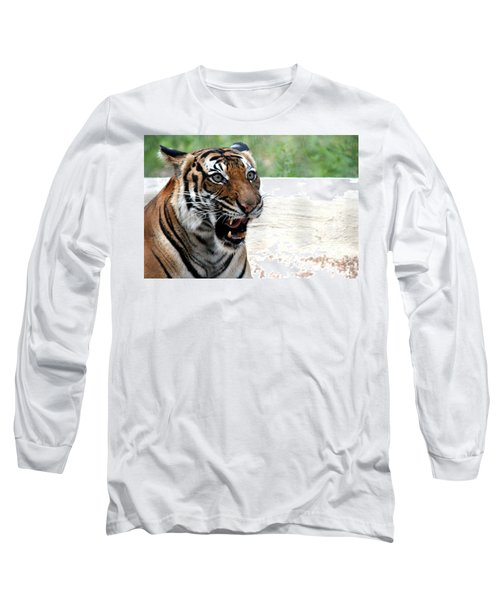 Long Sleeve T-Shirt featuring the photograph Make My Day by Kathy  White