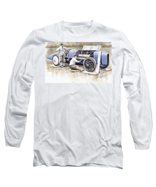 Malcolm Campbell Sunbeam Bluebird 1924 Long Sleeve T-Shirt