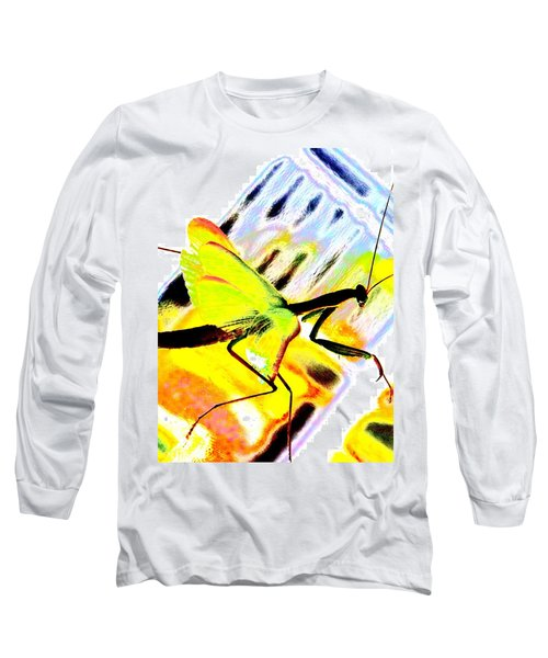 Long Sleeve T-Shirt featuring the photograph Mantis by Xn Tyler