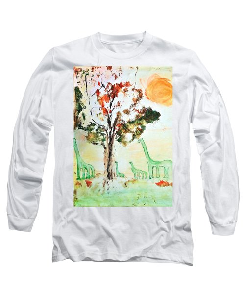 Matei's Dinosaurs Long Sleeve T-Shirt