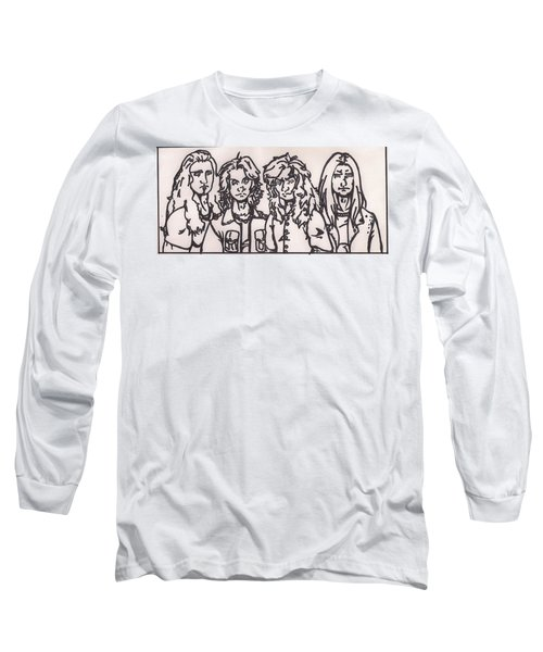 Megadeth Long Sleeve T-Shirt by Jeremiah Colley