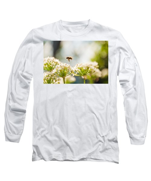 Long Sleeve T-Shirt featuring the photograph Mid-pollenation by Cheryl Baxter